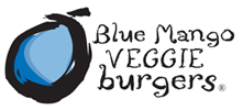 Blue Mango Veggie Burgers Logo