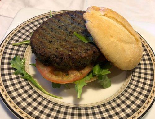 Blue Mango Veggie Burger